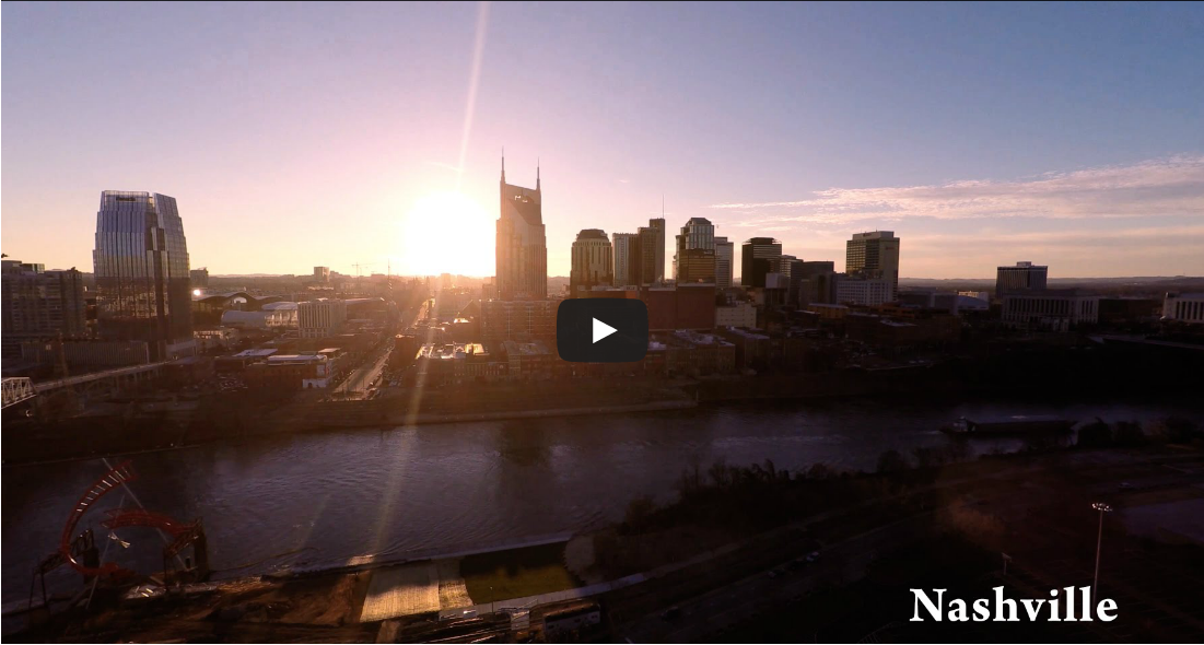 Welcome to Nashville – Drone Aerial Views!